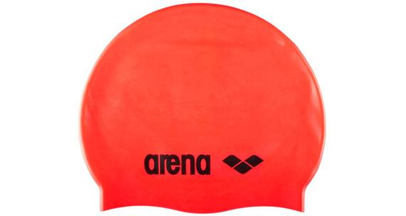 arena Classic Silicone Cap fluored/black